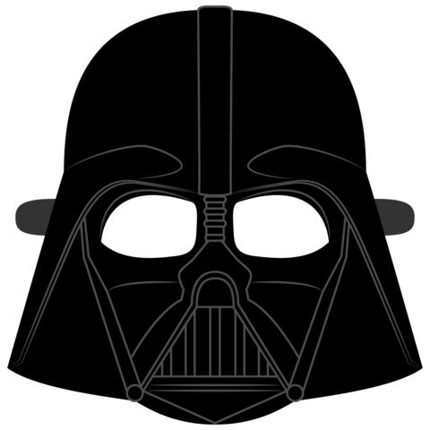 Darth Vader Helmet Mask Template.