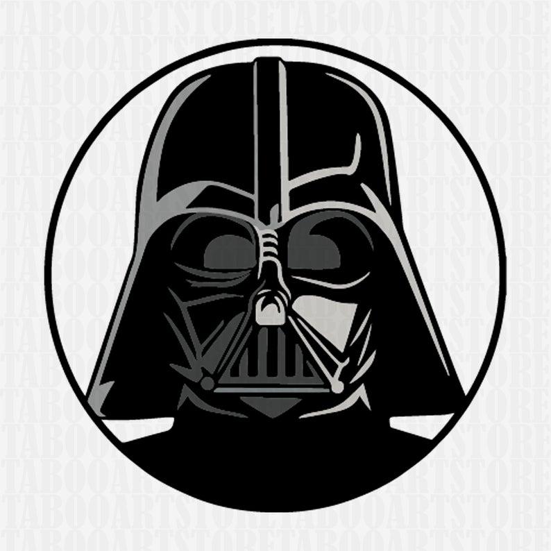 darth vader clipart, darth vader helmet svg ,star wars svg, darth vader  clipart, eps, darth vader silhouette, darth vader files.