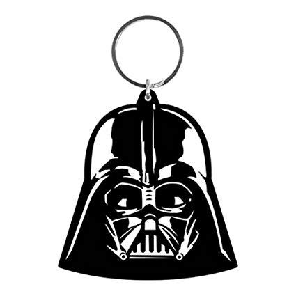 Amazon.com: Official Star Wars Darth Vader Helmet Rubber Keychain.