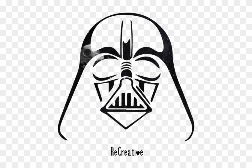 Darth Vader Mask Drawing.