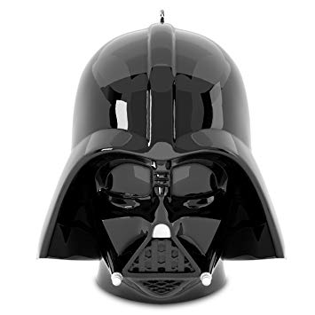 Hallmark Disney Lucasfilm Darth Vader Star Wars Helmet Keepsake Christmas  Ornaments.