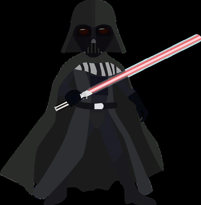 Darth Vader Cartoon Png Vector, Clipart, PSD.