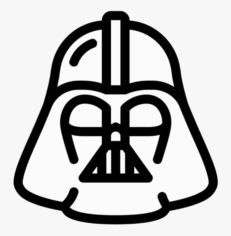 Darth Vader Clipart Sketch Icon X Transparent Png.