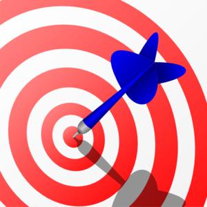 Animated dart clipart.