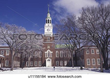 Stock Photo of university, Dartmouth College, New Hampshire, NH.