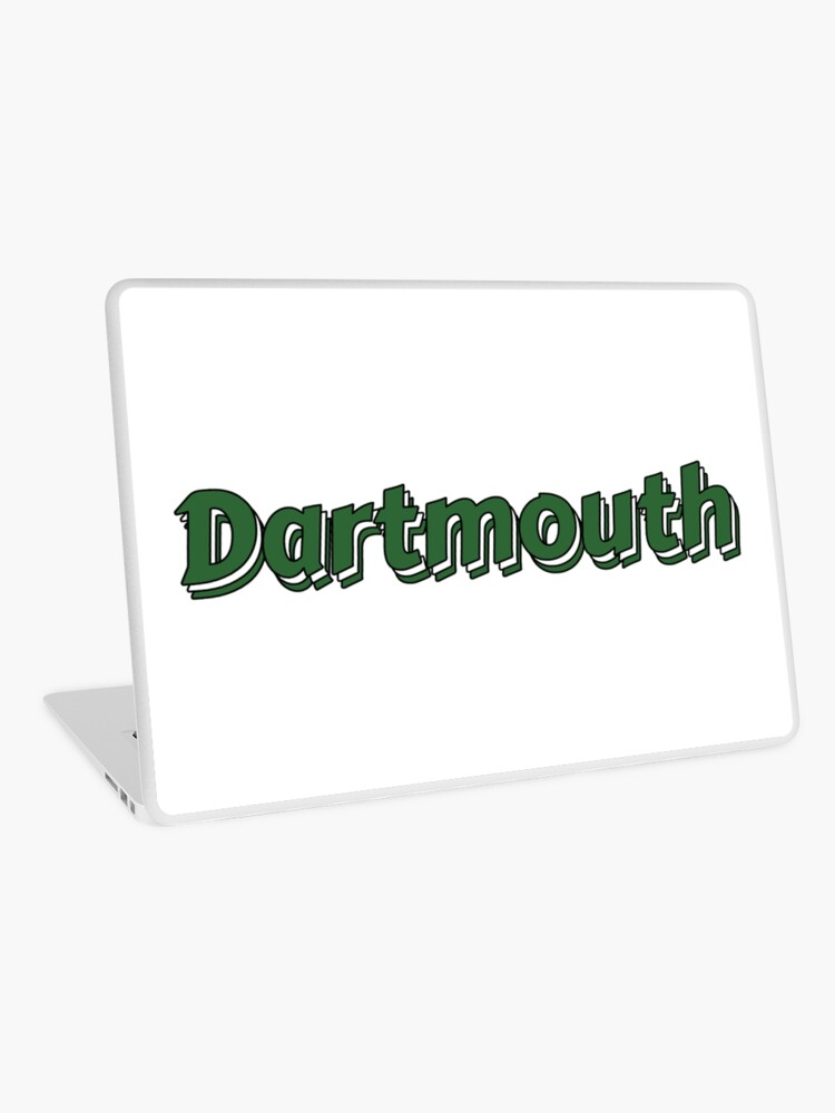 Dartmouth College Text Shadow Logo.