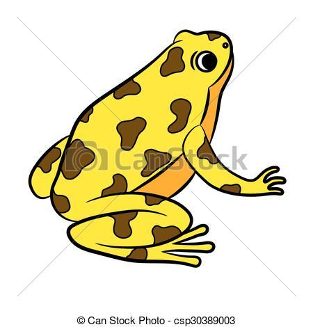 Poison dart frog Vector Clipart Royalty Free. 28 Poison dart frog.