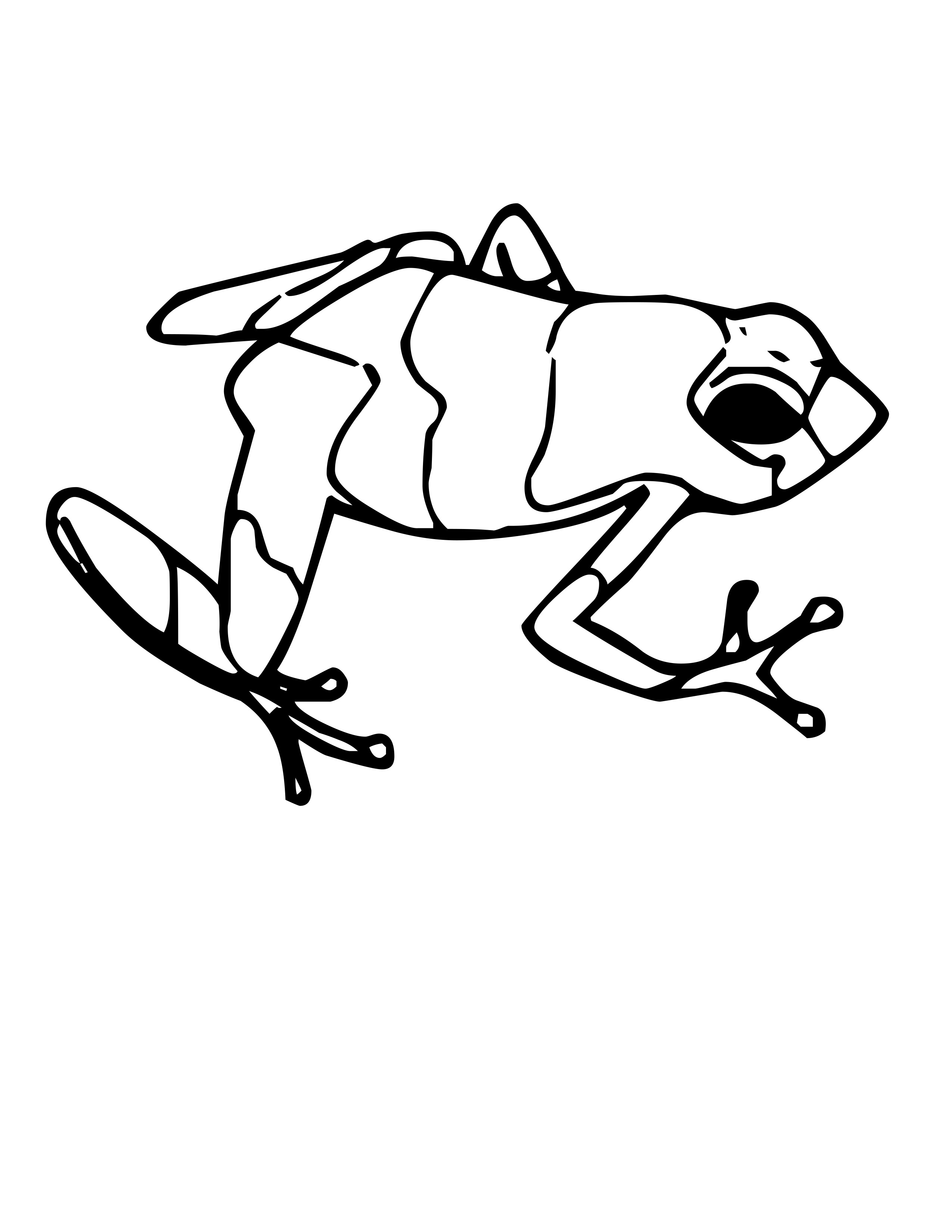 Coloring Pages Of Poison Dart Frogs.