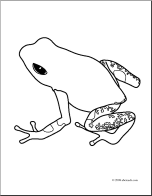 Dart-poison frog clipart - Clipground