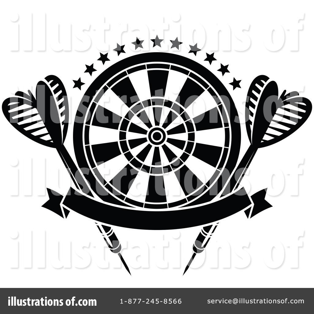 Darts Clipart #1304281.