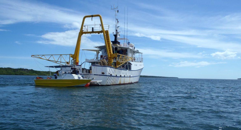 Daru Port Development in PNG for Mitsubishi.