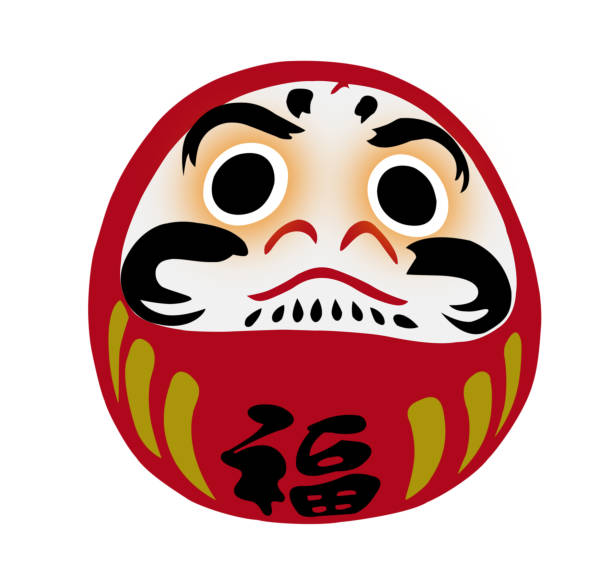 Best Daruma Doll Illustrations, Royalty.
