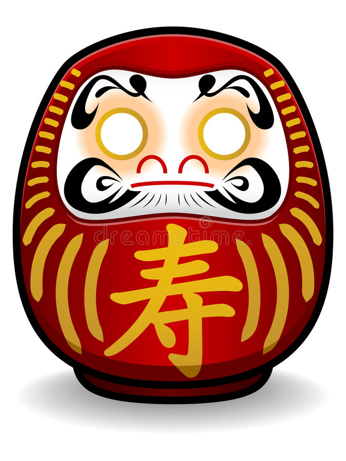 Daruma Stock Illustrations.