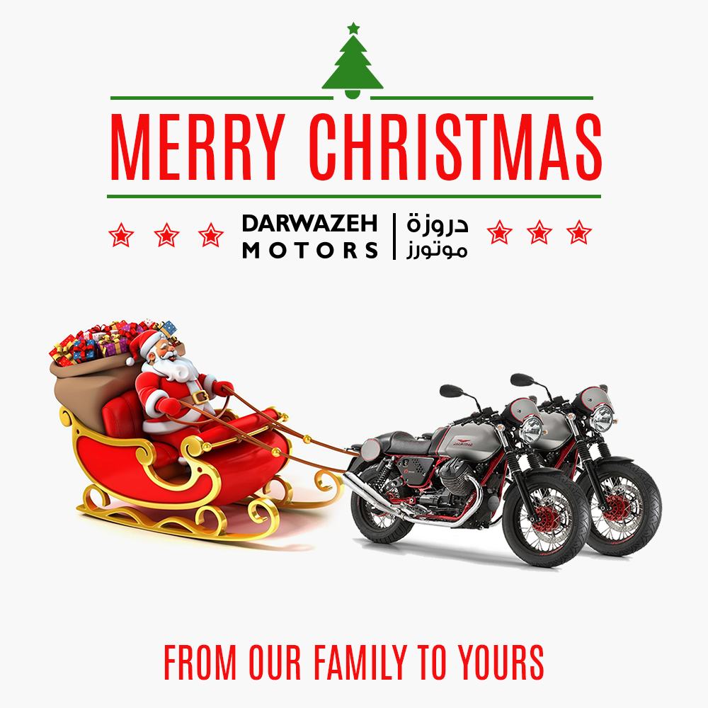 "Darwazeh Motors on Twitter: ""From our family to yours, Merry."