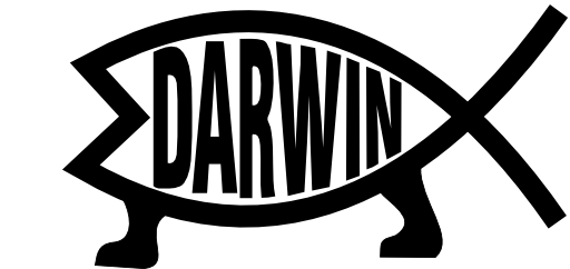 Darwin Evolution Clipart.