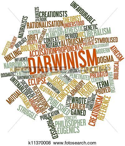 Stock Illustration of Darwinism k11370008.