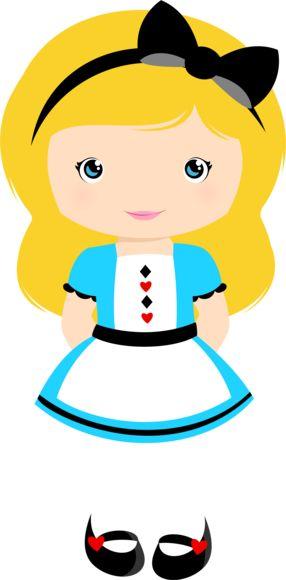 Alice no país das maravilhas Loira.