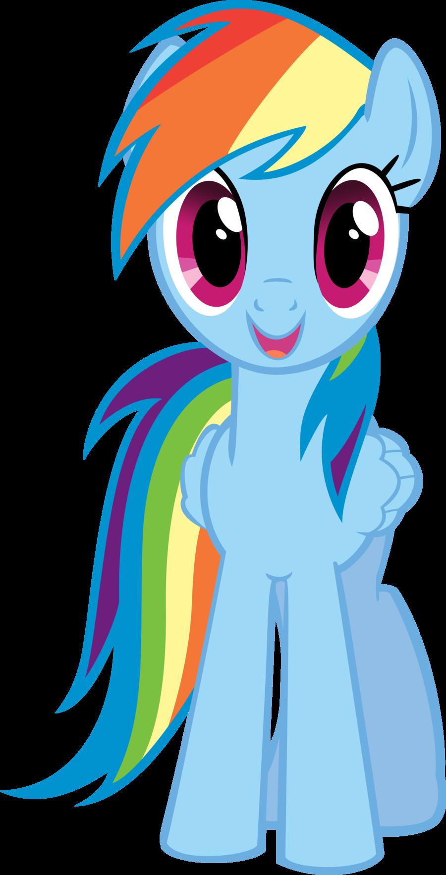 Rainbow dash clipart.