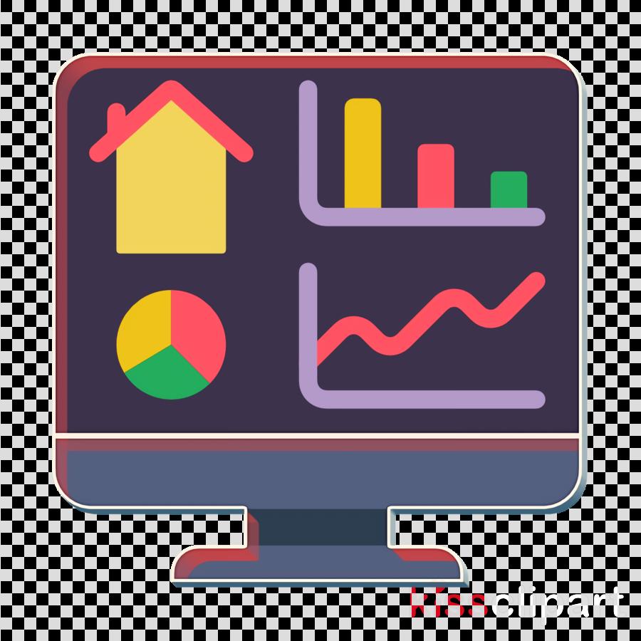Home icon Smart House icon Dashboard icon clipart.