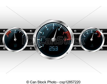 Clipart dashboard gauges.