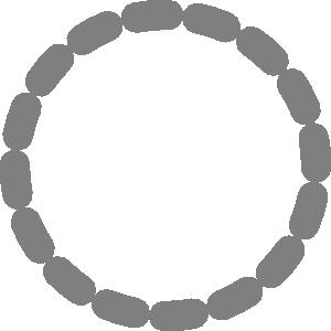 Dotted Line Border Clip Art.