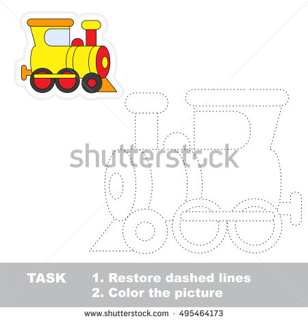 Dashed line clipart #3