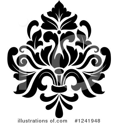 Damask Clipart #1241948.