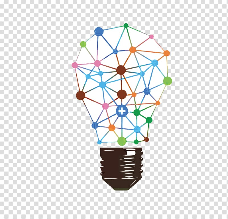 Data science Machine learning Analytics Big data, bulb transparent.