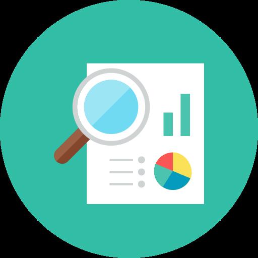 Analytics icon.
