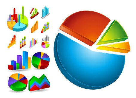 Free Data Analysis and Statistics icon Clipart and Vector Graphics.