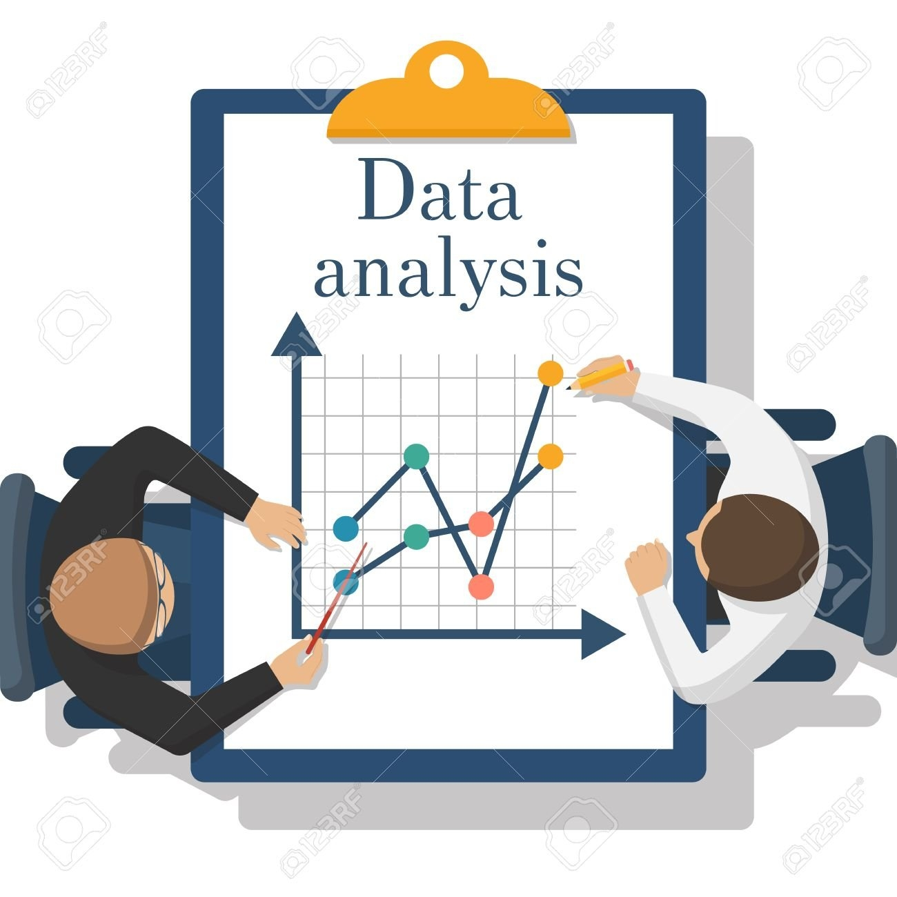 Data Analysis Clipart.