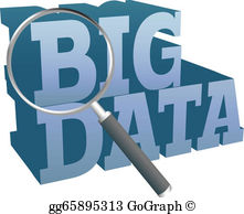 Big Data Clip Art.