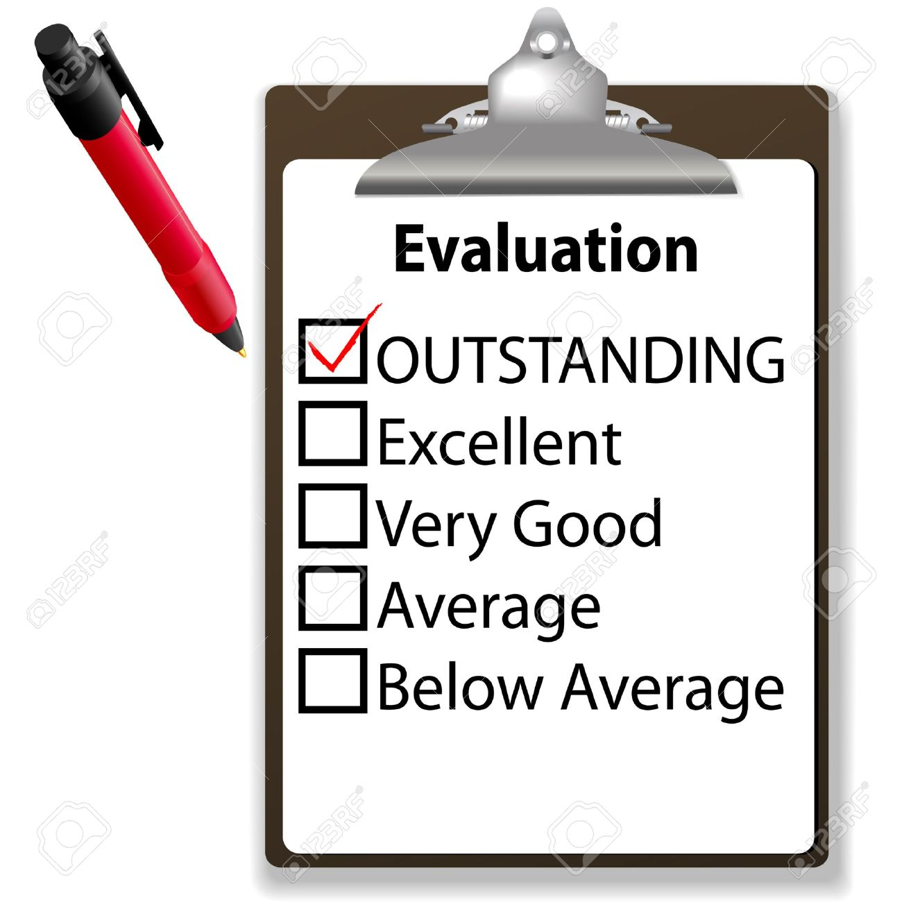 Evaluation clipart - Clipground