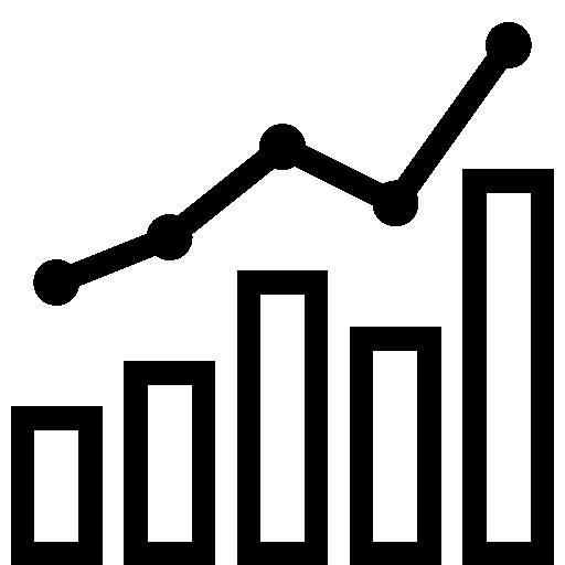 Data Combo Chart Icon.