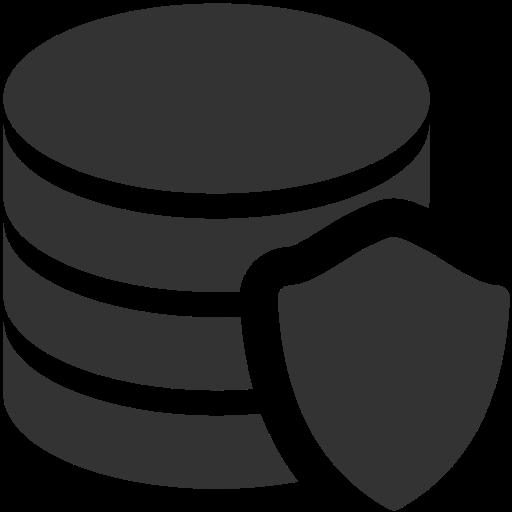 Data protection, the application, dato Icon Free of Windows 8 Icon.