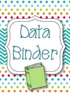 Data binder clipart.