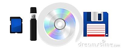 Data Storage Device Stock Images.