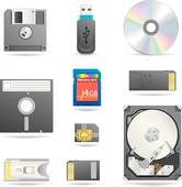 Stock Photo of Data storage device k19497714.