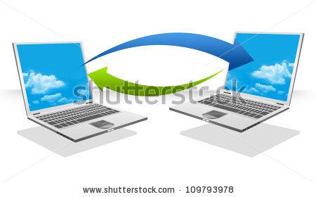 Data Transfer Stock Photos, Royalty.