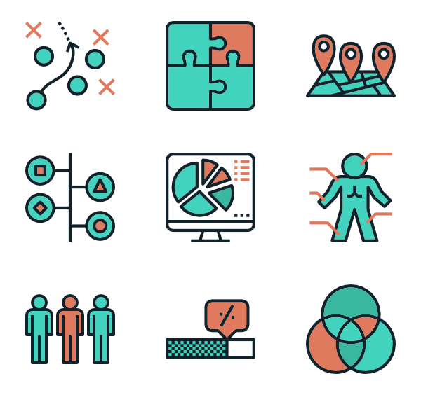 Visualization Icons.