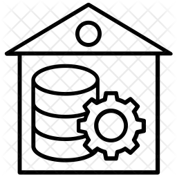 Data Warehouse Icon.
