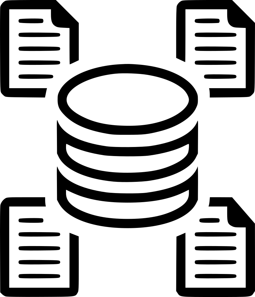 Data Warehouse Data Mining Protect Protection Safety Svg Png Icon.