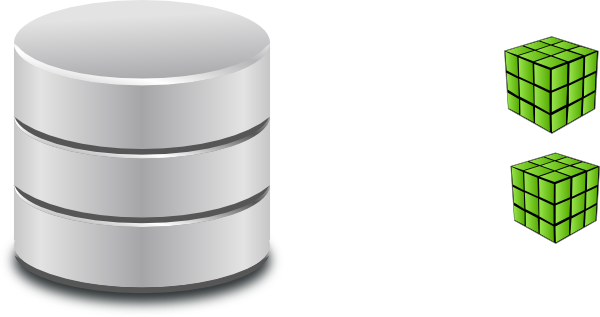 Query Database Clip Art.
