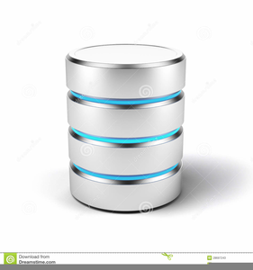 Access Database Clipart.