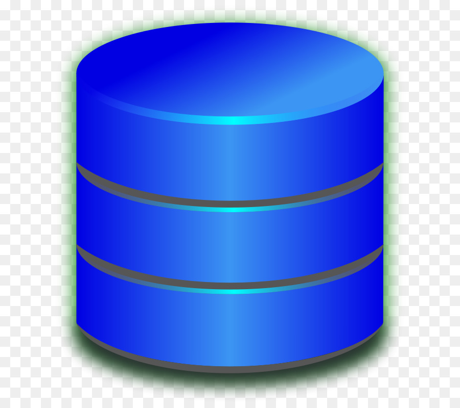 Database Blue png download.