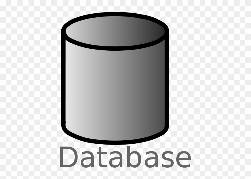 Free Database Symbol Labelled.