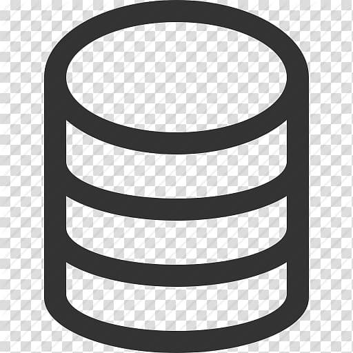 Black database icon, Computer Icons Database Iconfinder.