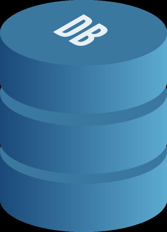 Free Clipart: Database symbol.