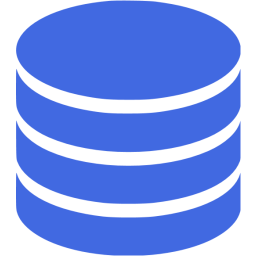 Royal Blue Database 5 Icon.
