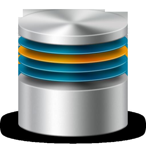 Analytics, database, firewall, server, storage icon.